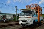 タワー車 保線車両 小田急ファミリー鉄道展.jpg