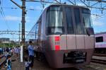 ロマンスカーEXE 海老名基地 小田急ファミリー鉄道展.jpg