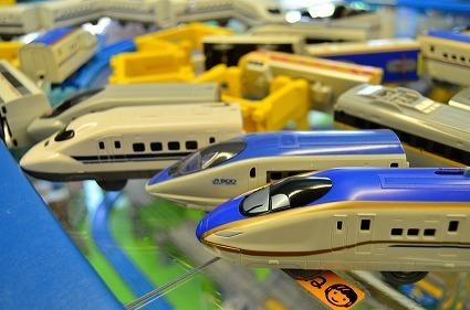 北陸新幹線かがやきプラレール 500系こだまプラレールカー.jpg