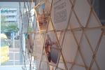 割り箸ウォール 黄金スタジオ 黄金町バザール2011.jpg